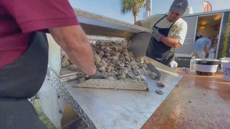 North Carolina Oyster Festival in Ocean Isle Beach.