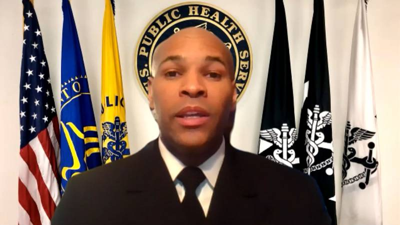 Surgeon General Dr. Jerome Adams addresses the hesitancy in the Black community to COVID-19...