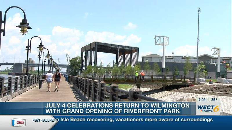 July 4th celebration planned for grand opening of Riverfront Park in Wilmington