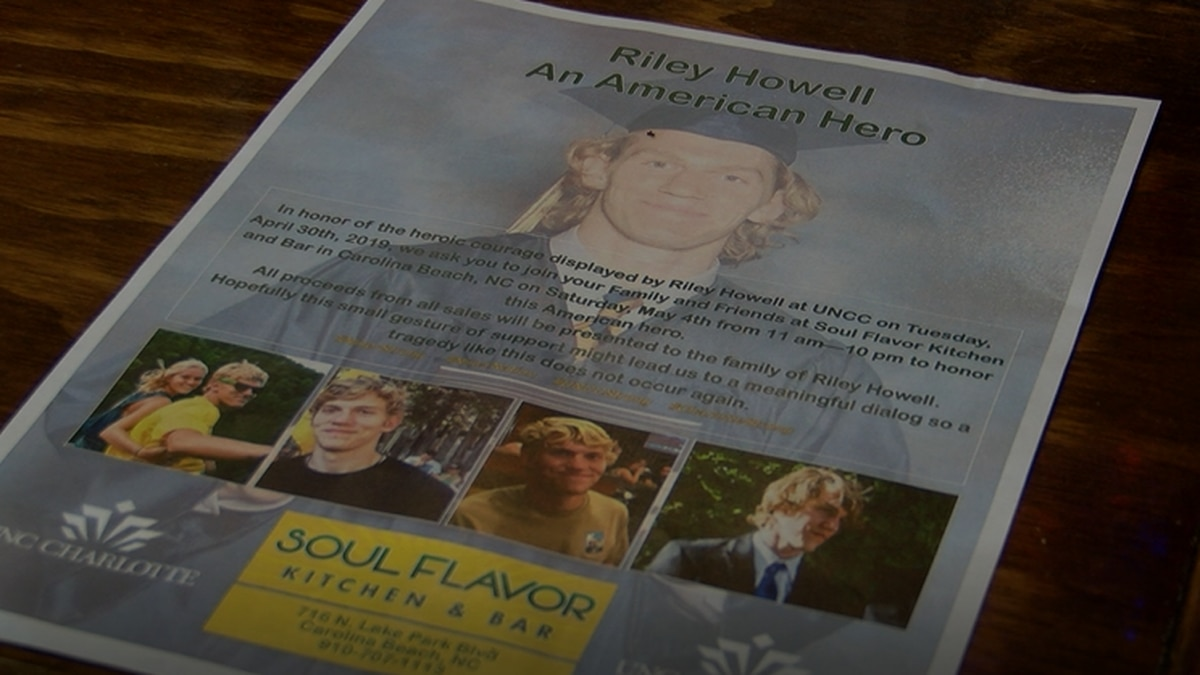 A Carolina Beach restaurant donates all proceeds to the Howell family after he risks his life...