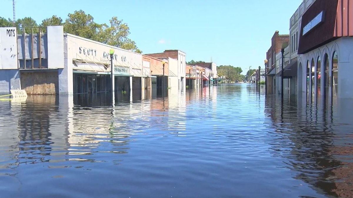 The town of Fair Bluff has not recovered from the massive flooding caused by Hurricane Florence...