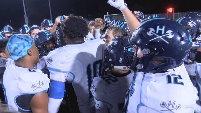 The Hoggard Football team is 7-0 heading into the 2021 state playoffs.
