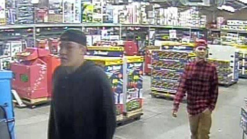 Suspects wanted for felony larceny at Walmart on Carolina Beach Road in Wilmington. (Source:...
