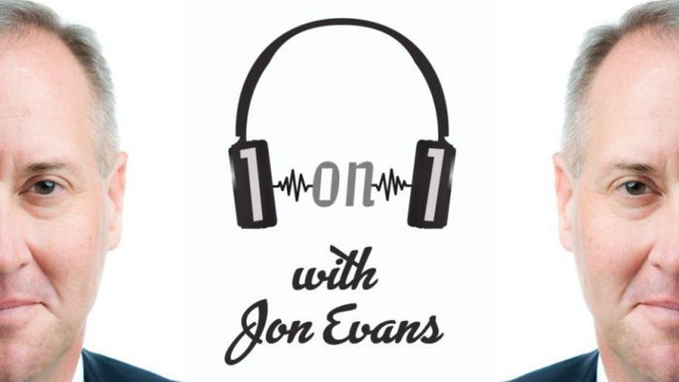 """You can listen to past episodes of the """"1on1 with Jon Evans"""" podcast with guests including..."""