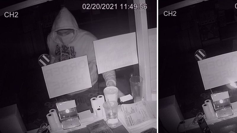 Elizabethtown Police are investigating a break-in at two local restaurants.