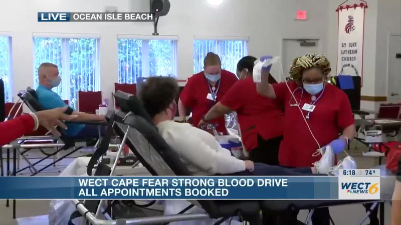 Survivor of Brunswick Co. tornado reflects on tragedy at Cape Fear Strong Blood Drive