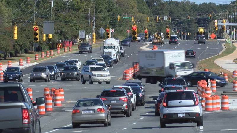 North Carolina Department of Transportation is planning to add Continuous Flow Intersections...