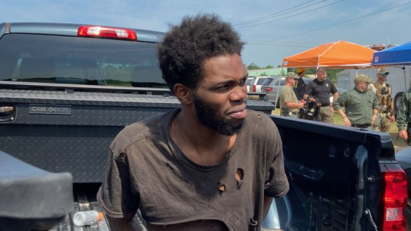 Tyler Terry, 26, has been on the run since  May 17. He was taken into custody Monday, May 24,...