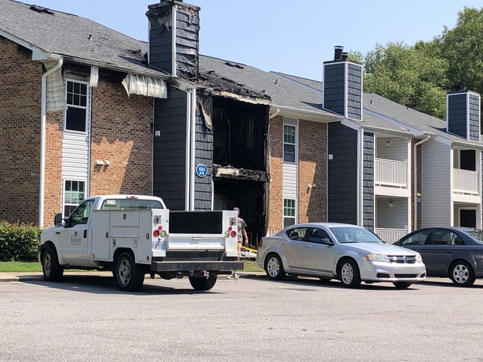Deadly apartment fire on Bridle Court in Greenville
