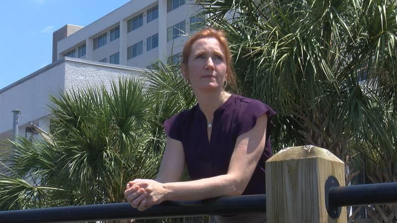 Megan Kopka is one of the founders of the Modern Widows Club Cape Fear (Source: WECT)