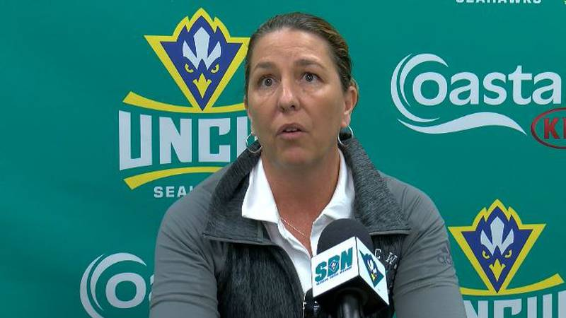 """It was rough,"" is how UNCW Women's Basketball Head Coach Karen Barefoot describes her battle..."