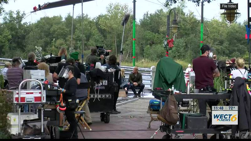 Hallmark to film Christmas movie scenes in Wilmington