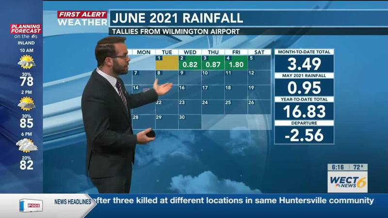 Your First Alert Forecast from Sat. morning, Jun. 5, 2021
