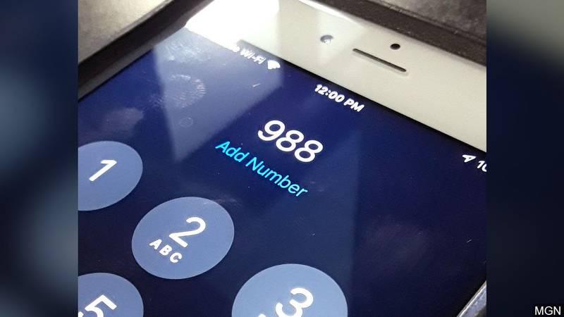 988 Suicide Prevention Hotline