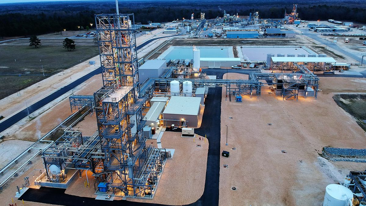 Chemours constructed the thermal oxidizer at its Fayetteville Works site as part of its effort...