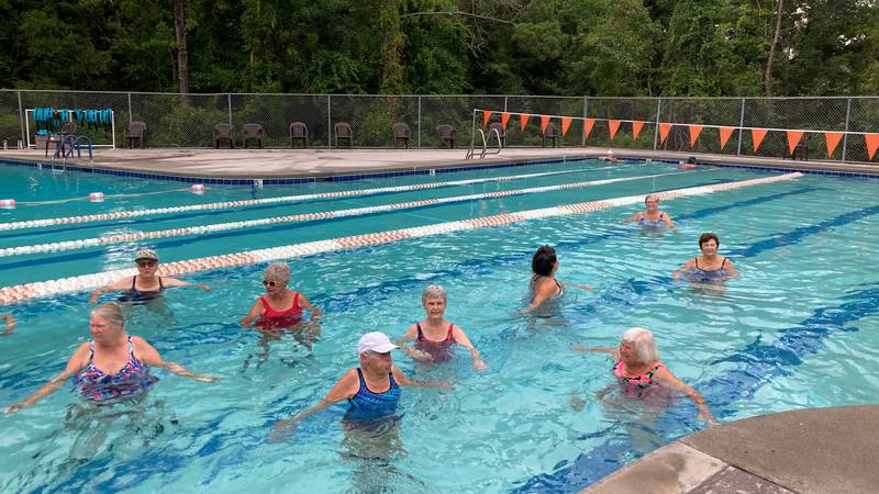 Get Fit With 6: Water aerobics