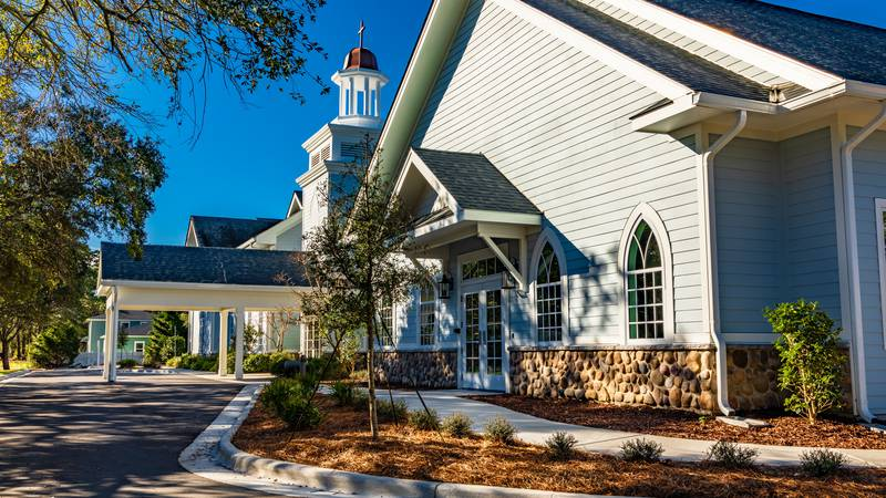 A new $2.6 million ministry center will be dedicated at Southport Presbyterian Church on...
