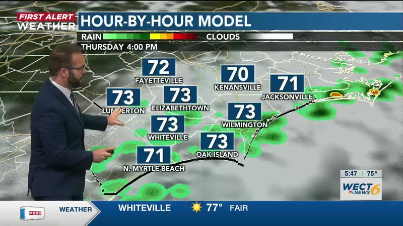Your First Alert Forecast from Wed. Evening, April 14, 2021