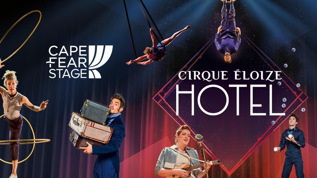 Cirque Eloize Hotel Giveaway 3/5/2020
