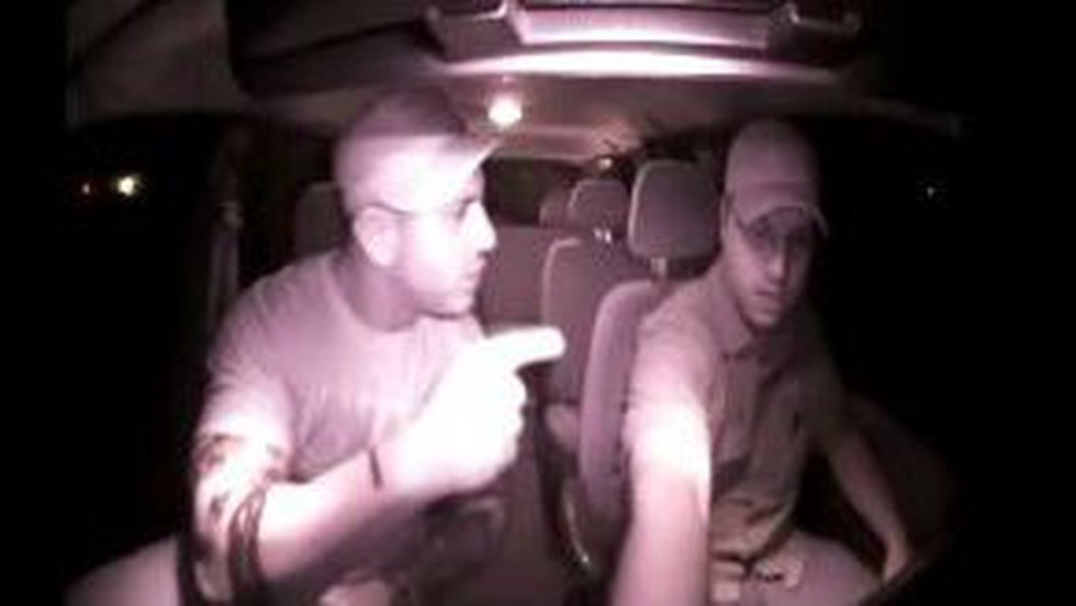 Video from inside Island Taxi cab during incident Sunday. (Source: Island Taxi)