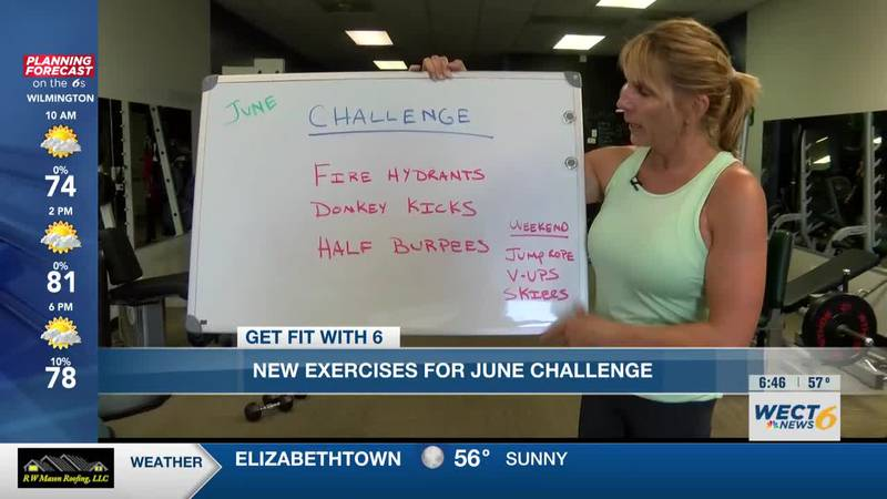 Get Fit with 6: June Challenge