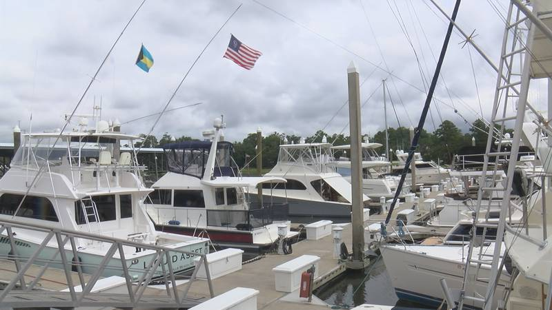 The Bradley Creek Yacht Club has a 3 year waitlist for some of its slips.