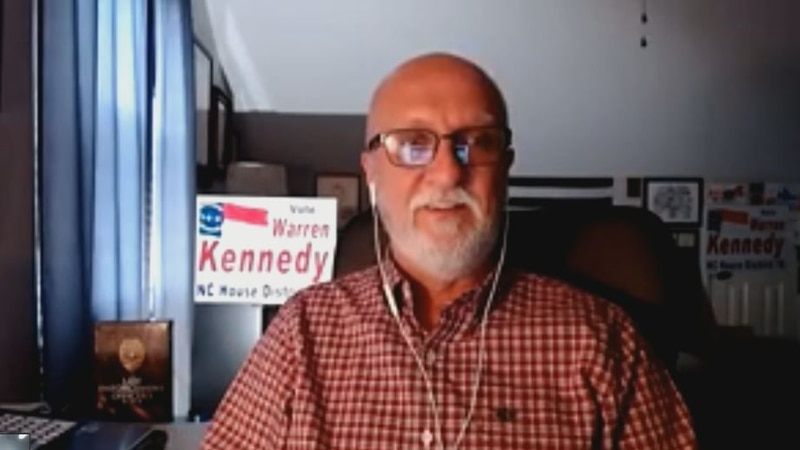 Warren Kennedy is the republican candidate running in the NC House District 18 race
