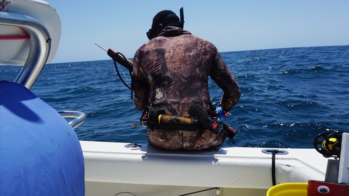 The Wrightsville Beach Spearfishing Tournament is being held this weekend.