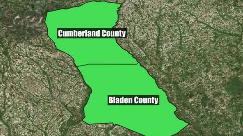 Bladen County had been taxing property owner for land that was in Cumberland County.