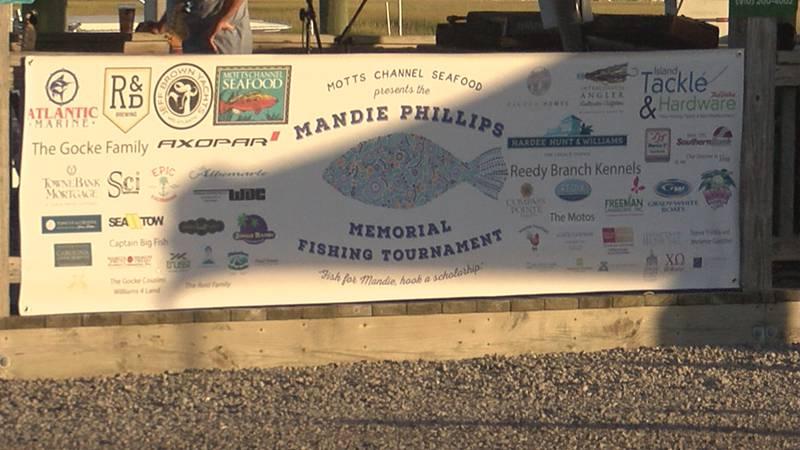 Mandie Phillips Memorial Fishing Tournament.