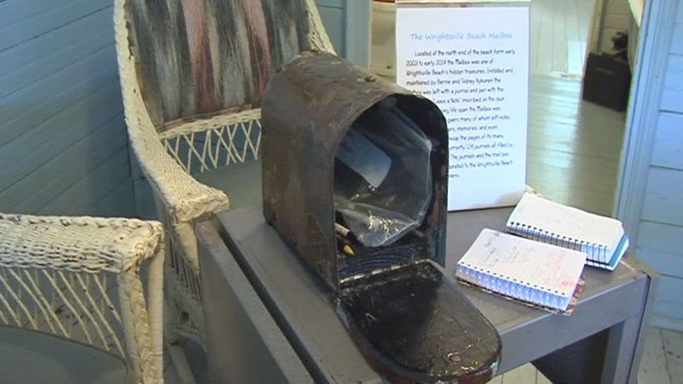The mailbox has now found a new home, in the Wrightsville Beach Museum of History. There are...