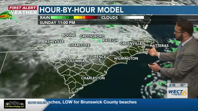 Your First Alert Forecast from Sun. morning, May 16, 2021