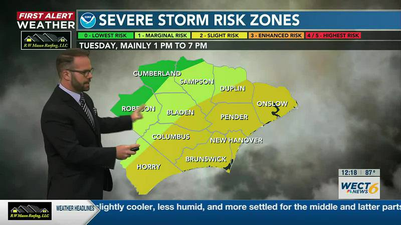 Your First Alert Forecast from Tue. Afternoon, Jun. 15, 2021