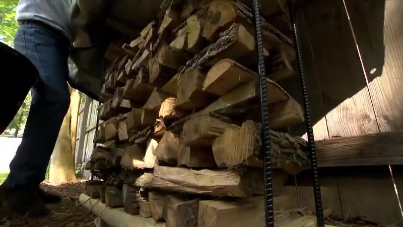 How to Stack Firewood So It Dries Much Faster