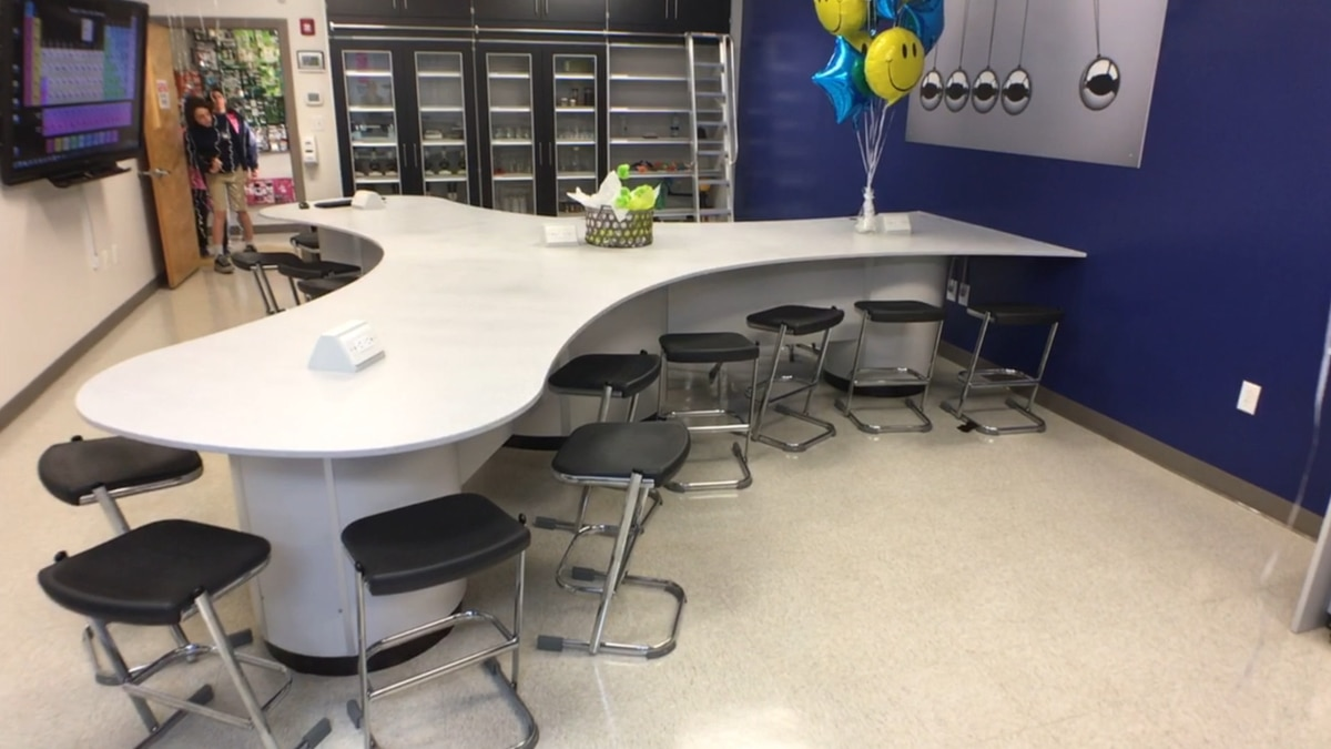 Wilmington Academy of Arts and Sciences new science lab