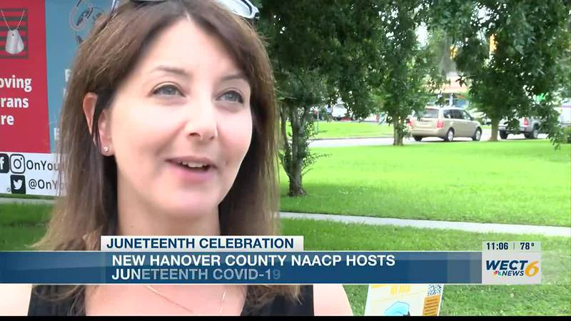 New Hanover County NAACP hosts Juneteenth vaccination event