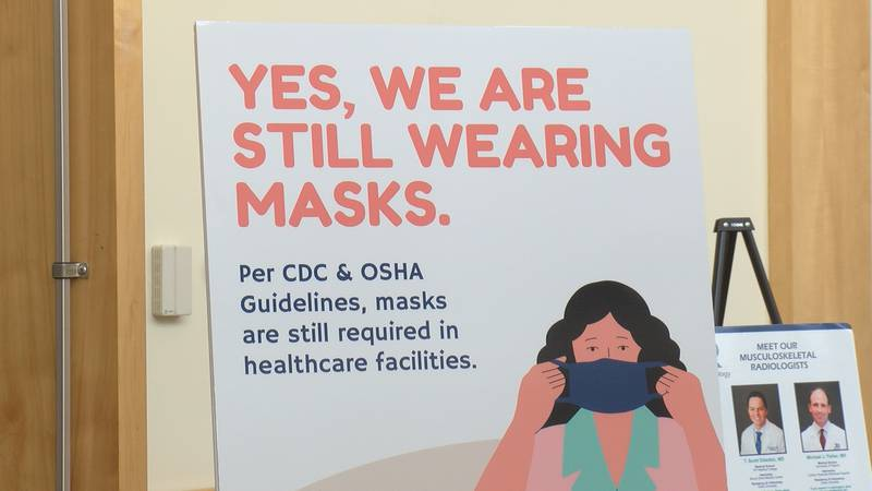 Masks in healthcare settings