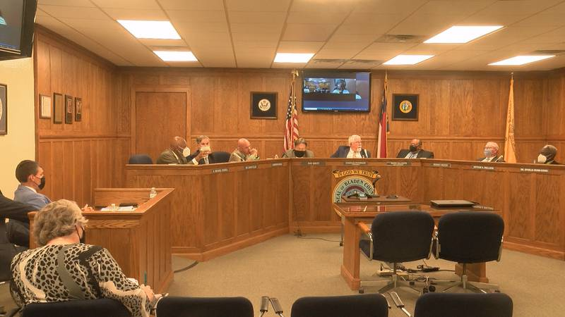 Bladen County Commissioners Meeting.