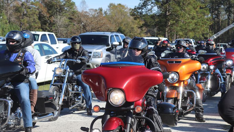 A charity ride for fallen state trooper Kevin Conner was held to benefit his family. (Source:...