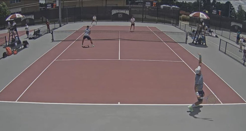 UNCW Men's Tennis team bows out in first round of NCAA tournament