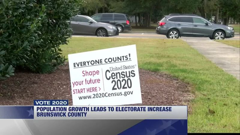 Growth in Brunswick County was reflected in the 2020 election turnout