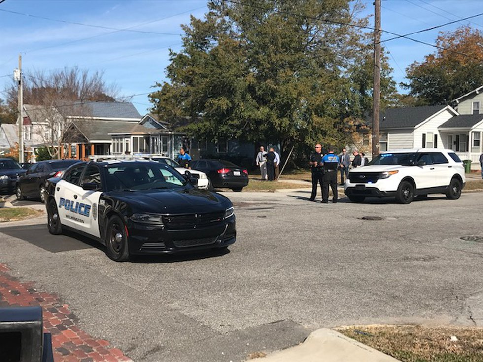 The Wilmington Police Department is investigating after a man was shot on Red Cross Street...