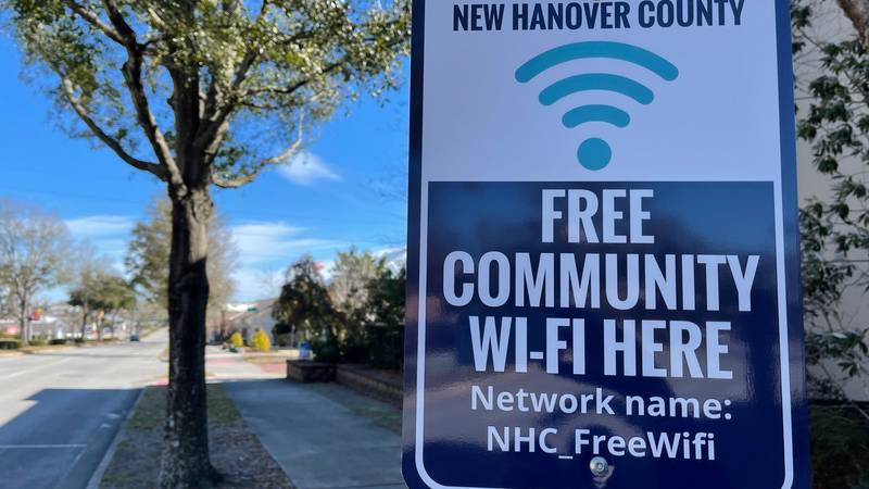 New Hanover County's expanded push to provide free internet access