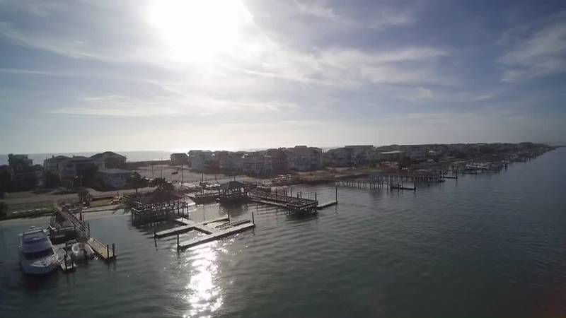 SKY TRACKER: A Christmas look over Wrightsville Beach