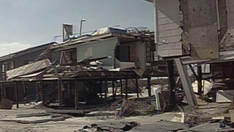 Hurricane Fran made landfall along the North Carolina coast on the night of September 5, 1996....