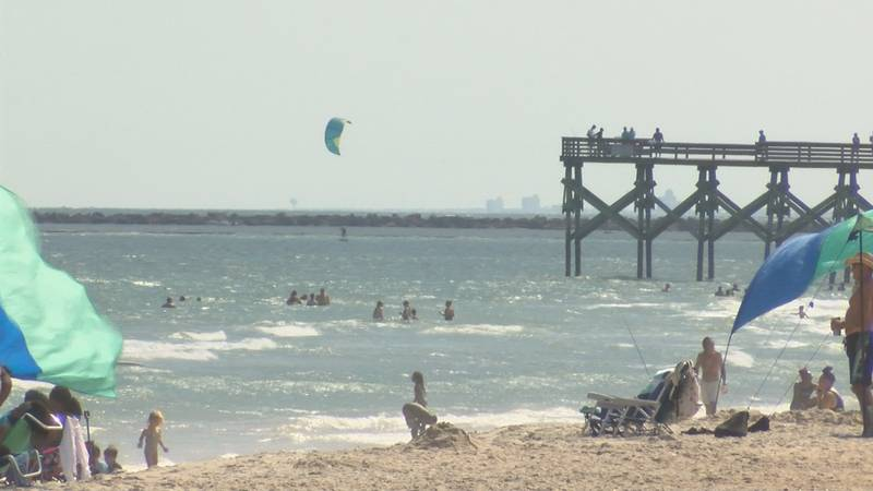 Ocean rescue crews say it's important to bring a flotation device out in the water