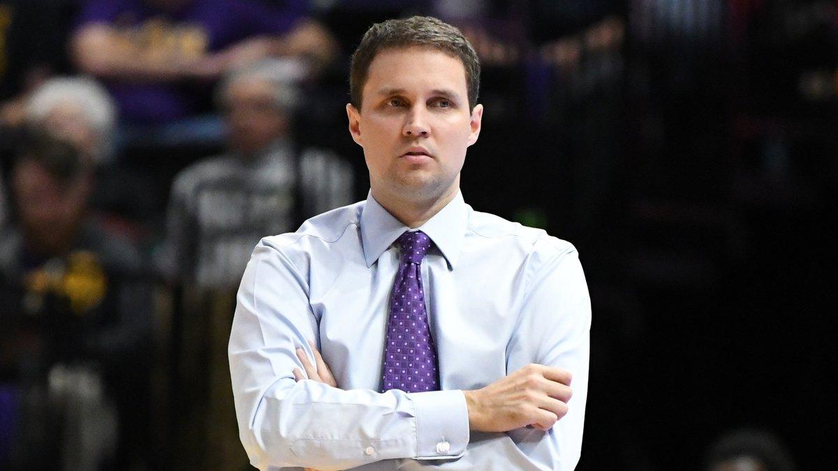 LSU basketball head coach Will Wade