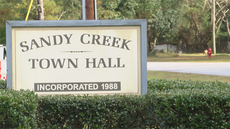The Sandy Creek town clerk is leaving for a higher-paying position in Wilmington. (Source: WECT)