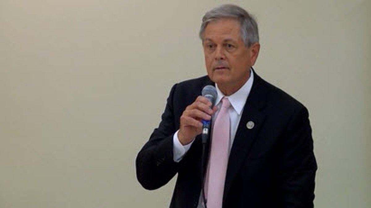 SC Congressman Ralph Norman makes a joke about the debate surrounding the sexual assault claims...