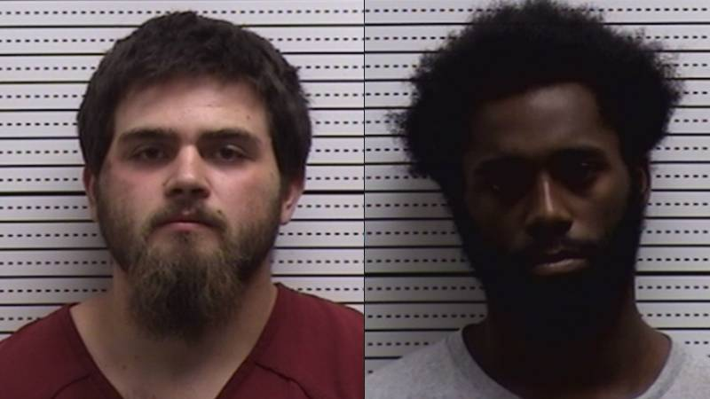 Logan Neal Young, left, and Joshua Larmonte Carter